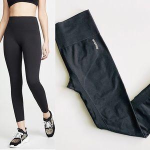 Reebok black seamless leggings - LARGE